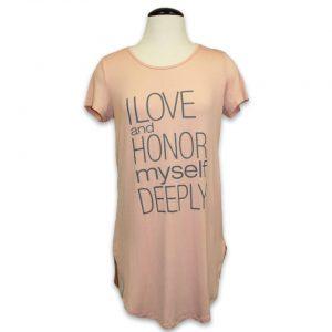 I Love and Honor Myself Deeply Long Sleeveless Top