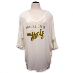 Beauty is being myself