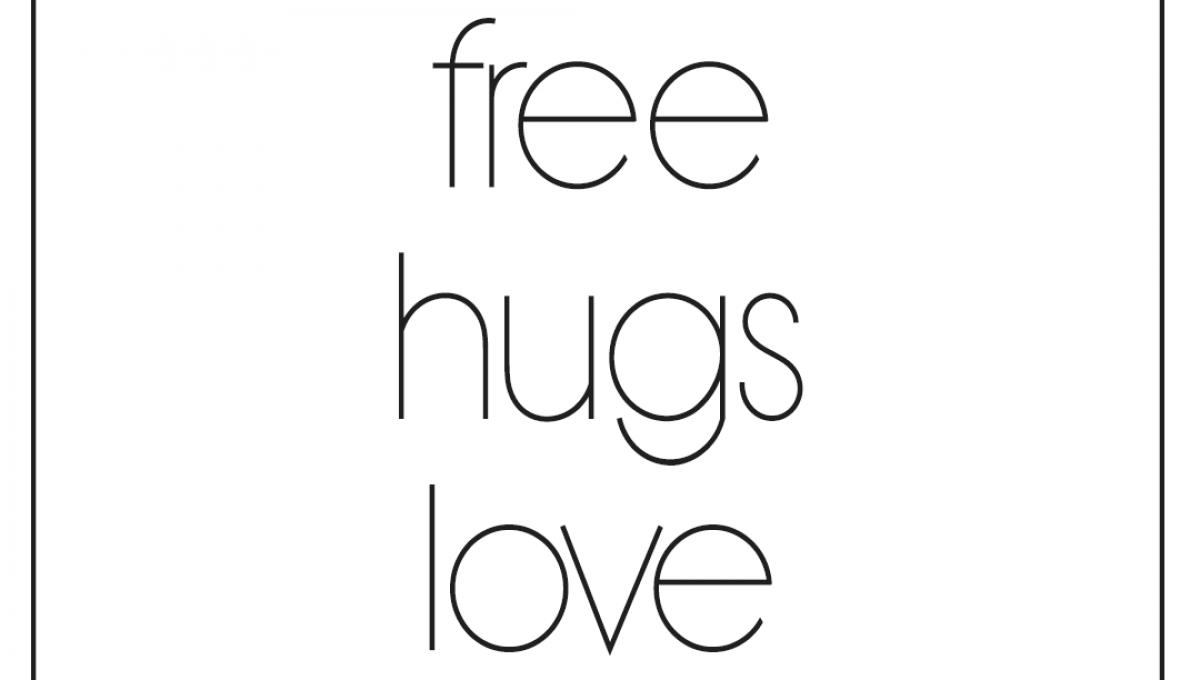 Free hugs love