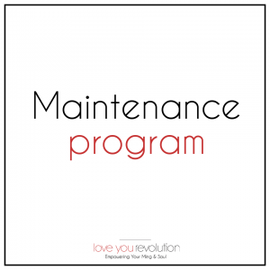 Maintenance Coaching